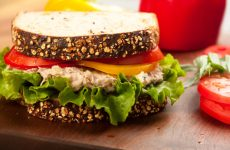 Try this healthy tuna burger recipe