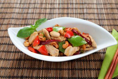 Healthy Dinner: Thai Chicken Recipe