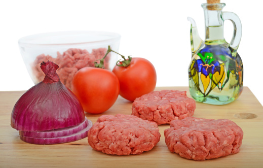A homemade, healthy burger is a great summer treat