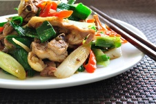 Chicken stir-fry_030713