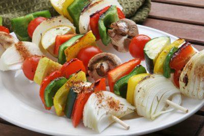 Healthy Vegetable Kabobs Recipe
