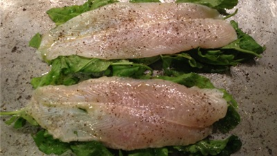 Fillets of Sole with Sorrel