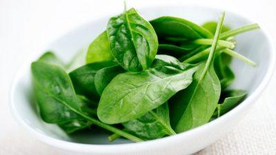 Spinach- a food rich in Vitamin A
