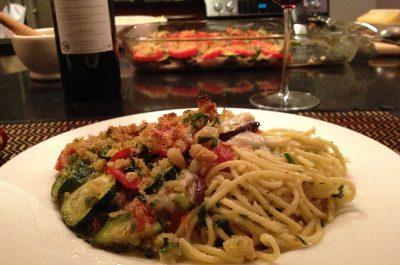 Veggie Lasagna Hold the Pasta!