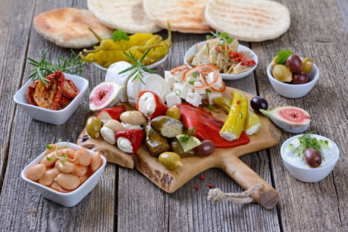 Mediterranean diet and heart attack