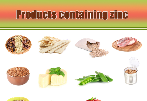 products with zinc