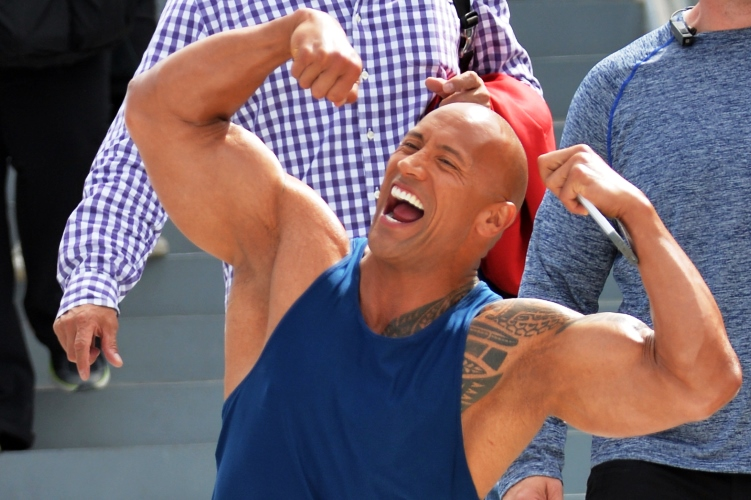 Black Adam, Dwayne Johnson Is Biggest Action Hero of 2017 With