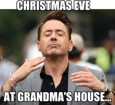 Christmas food meme funny