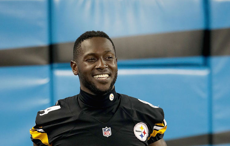 Antonio Brown: Wide Receiver's Intense Workout Makes Him a ...