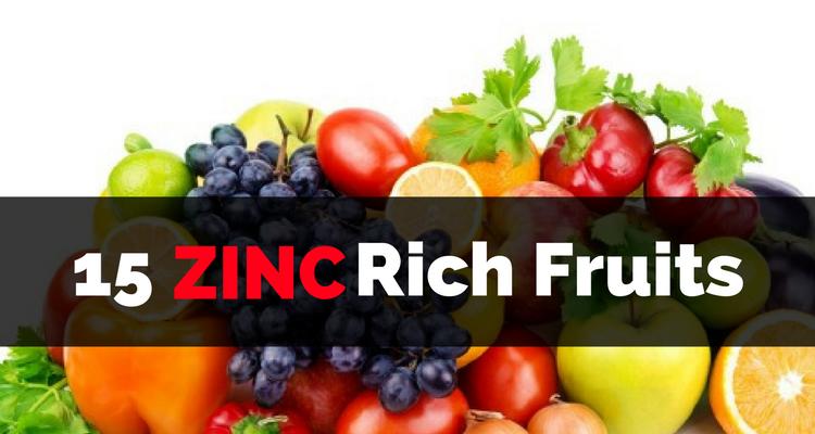 Zinc-Rich Fruits