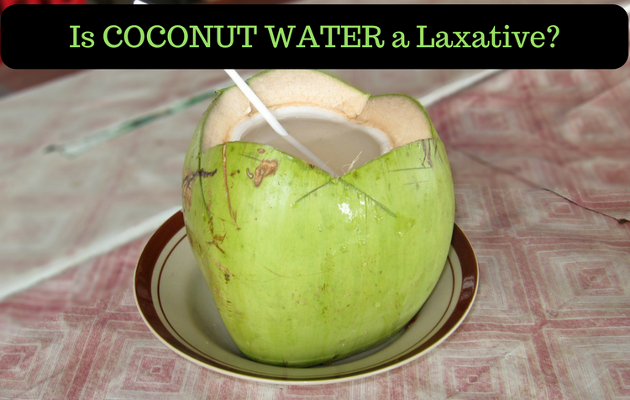 Is Coconut Water a Laxative
