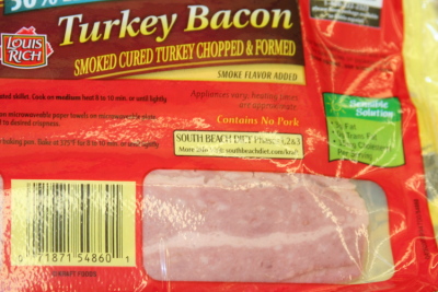Packed Bacon- Check Expiry Date