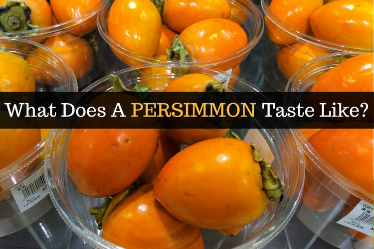 What Does Persimmon Ta... Fuyu Persimmons