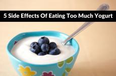Too much yogurt